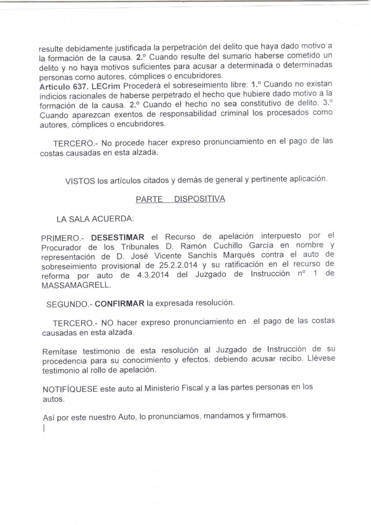 Auto | Abogado Urbanista | Guillermo Berzosa | Valencia